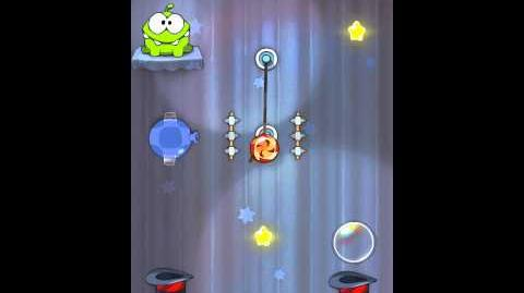 Cut the Rope 4-22 Walkthrough Magic Box