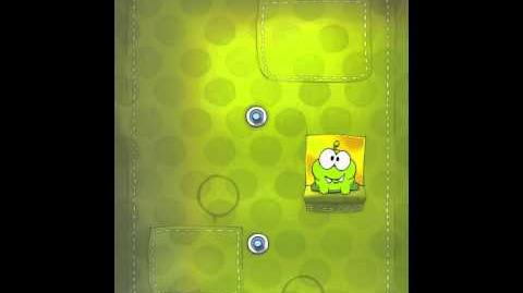 Cut the Rope 2-20 Walkthrough Fabric Box