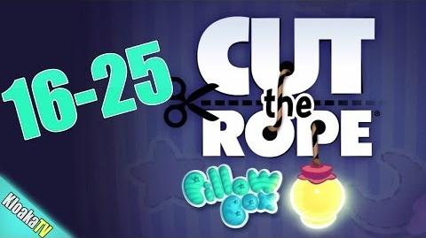 Cut The Rope 16-25 Pillow Box Walkthrough (3 Stars)