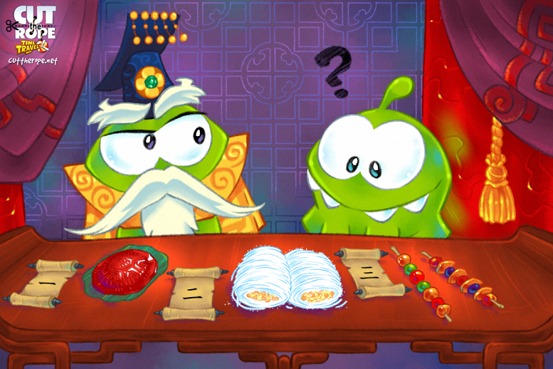 Cut The Rope Wiki Time Travel