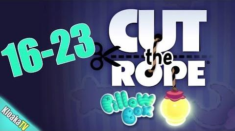 Cut The Rope 16-23 Pillow Box Walkthrough (3 Stars)