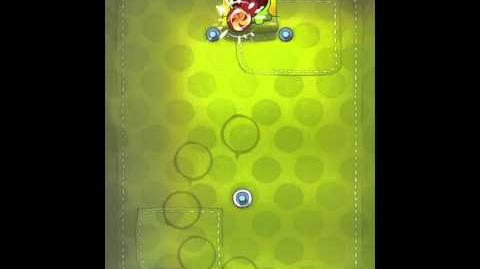 Cut the Rope 2-13 Walkthrough Fabric Box