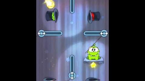 Cut the Rope 4-18 Walkthrough Magic Box