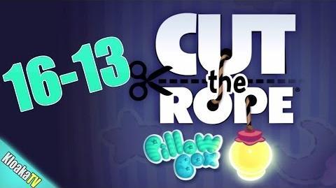 Cut The Rope 16-13 Pillow Box Walkthrough (3 Stars)