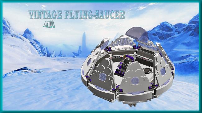 Vintage flying saucer 5