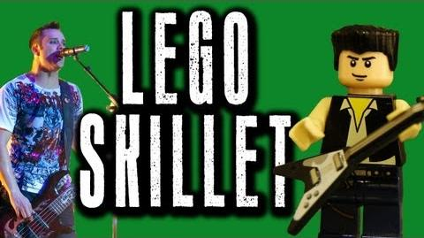 Lego Skillet Awake and Alive Music Video with lyrics HD