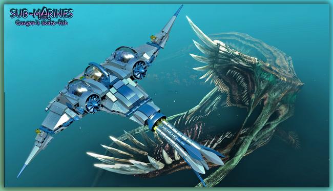 Gungan skate fish 2