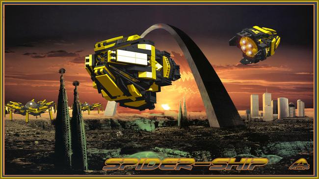 Spider ship 5