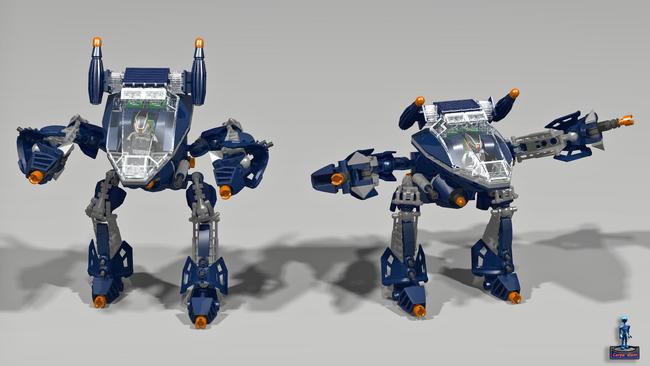 Alien robot 2