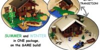 Log Cabin - Two Seasons!