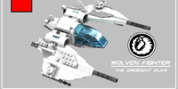 The Wolven fighter - Galaxy Command