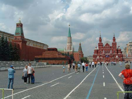 Russia moscow red square 09072003