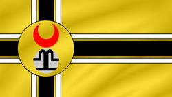 The Golden Horde Flag