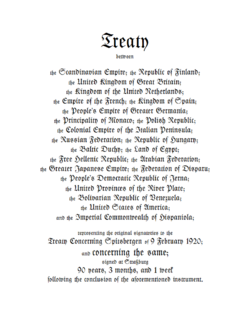 Second Spitsbergen Treaty