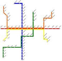 Maple Metro Map