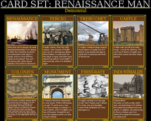 Renaissance man set