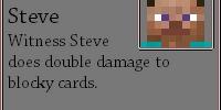 Witness Steve