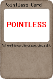 Pointless Card
