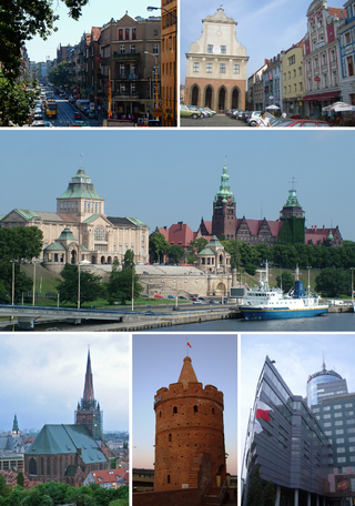 File:Collage of Szczecin.png