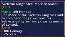 Skeleton King's Mace-0