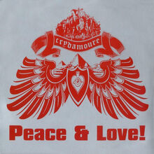 Crydamoure peace love