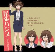 Dagashi Kashi S2 Character Design - Hajime