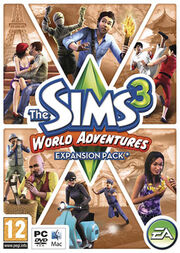 The Sims 3 EP1 Cover Art