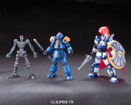 Bandai LBX armorsetup