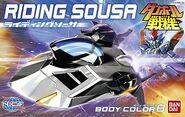 Riding Saucer/Bandai Models