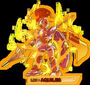 Imagen LBX Aquiles Modo V juego Danball Senki PSP
