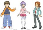 Danball senki first season trio