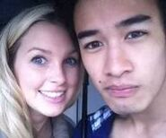 Alicia Banit and Jordan Rodrigues