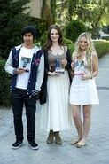 Jordan Rodriques, Xenia Goodwin, and Alicia Banit
