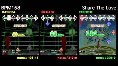 DDR X3 Share The Love -DOUBLE