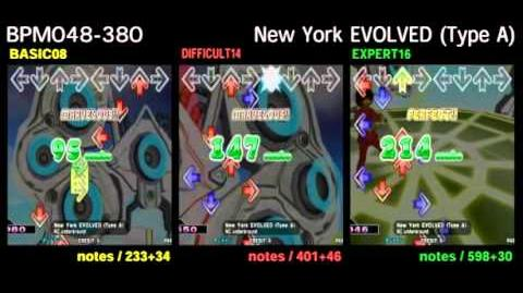 DDR X3 New York EVOLVED (Type A) - DOUBLE
