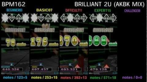 DDR X3 BRILLIANT 2U (AKBK MIX) - SINGLE
