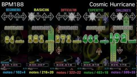 DDR X3 Cosmic Hurricane - SINGLE