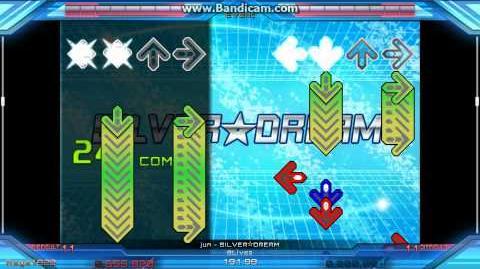 SILVER☆DREAM DDR X3 Stepmania S-DIF Lv