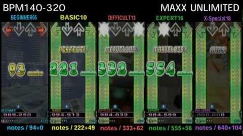 DDR MAX2 MAXX UNLIMITED - SINGLE