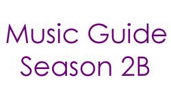 Music Guide Season 2B Century Gothic Font
