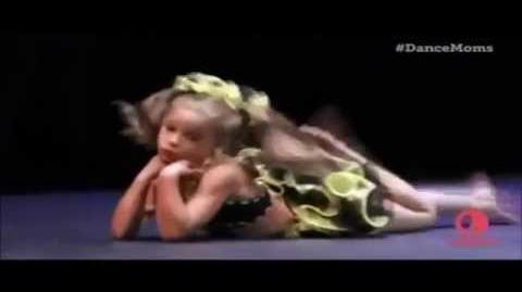 Dance Moms Mackenzie's Solo Honey Bee