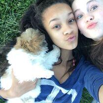Kaeli and Bella April2015 04
