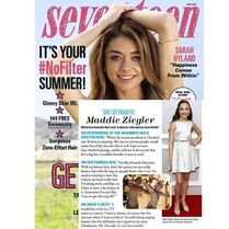 Maddie Seventeen magazine April 2015