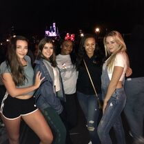 722 Girls at Disneyland