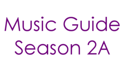 Music Guide Season 2A Century Gothic Font