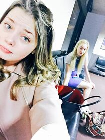 Alexa and Addison 5Feb2015 Twitter