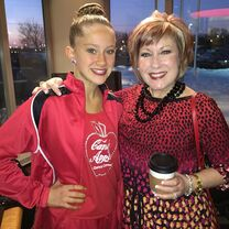 Haley with Cathy 2015-01-29