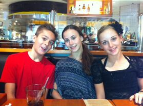 Zack with Madison and Hadley