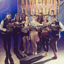 Teens and Seniors at NYCDA - 2015-02-06 - via IG jenninew22