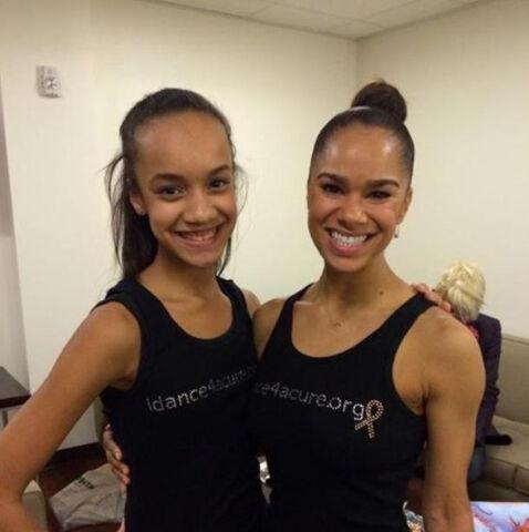 File:Kaeli and Misty - 2nd photo dancers vs cancer.jpg